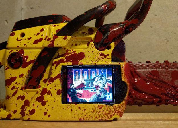 Doom запустили на бензопиле  - Изображение 1