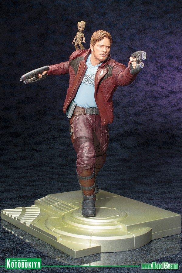 Новая статуя Звездного лорда изфильма «Стражи Галактики, часть2» - Изображение 2