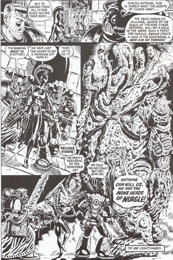Самые крутые комиксы по Warhammer 40.000 - Изображение 5