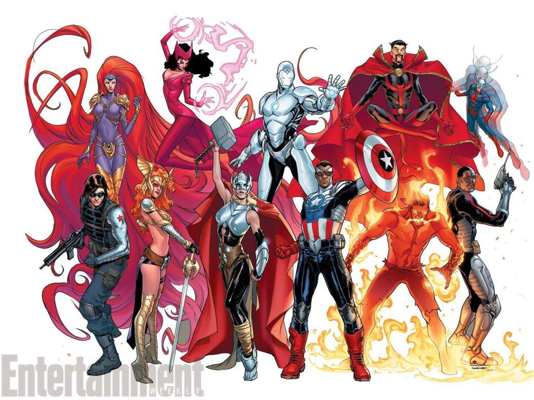 Галерея вариаций: Мстители-женщины, Мстители-дети... - Изображение 183