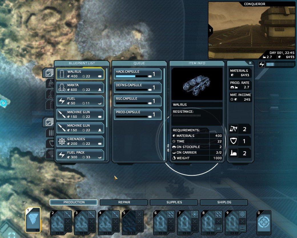 Рецензия на Carrier Command: Gaea Mission - Изображение 5