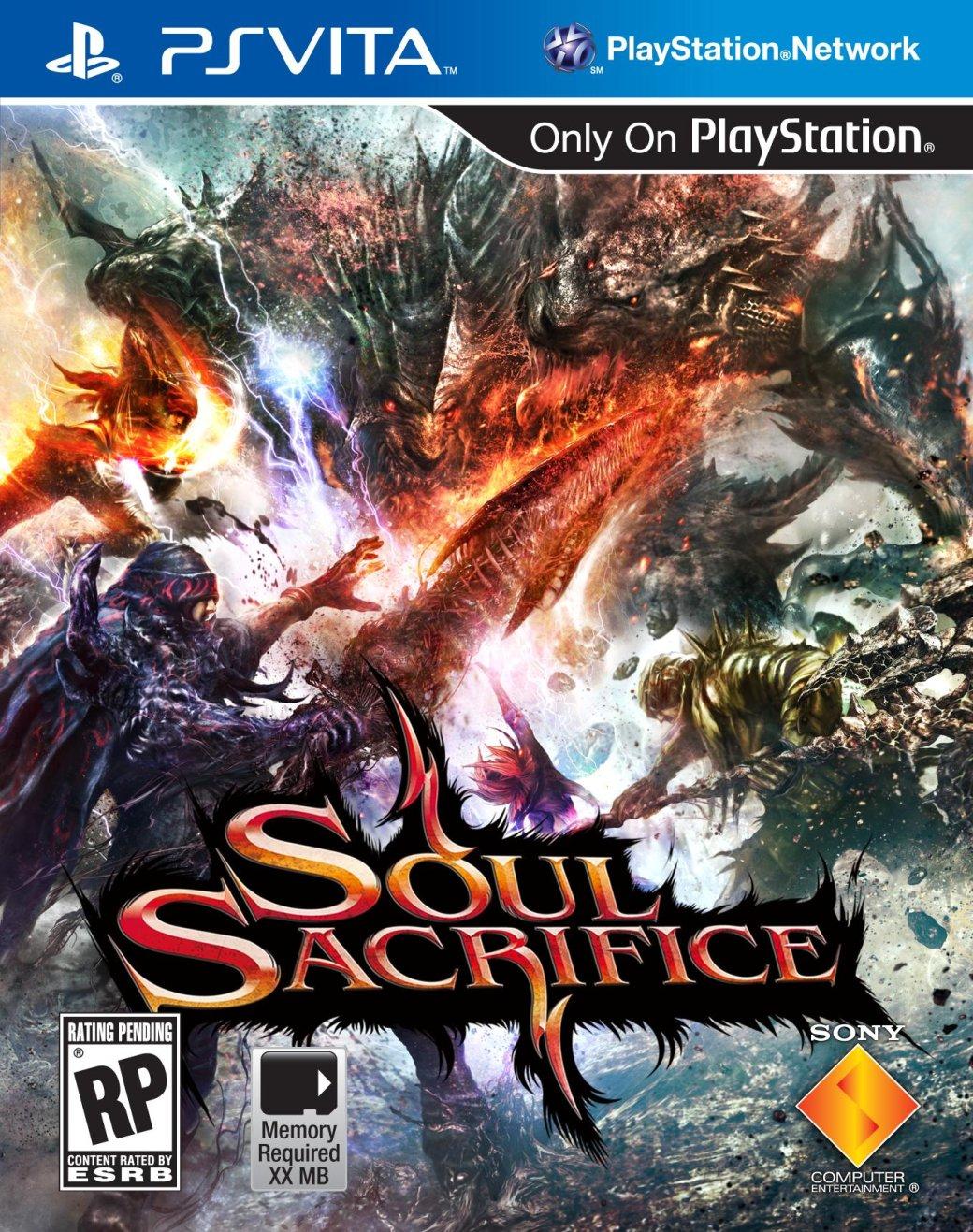 Бокс-арт и дата выхода Soul Sacrifice - Изображение 1