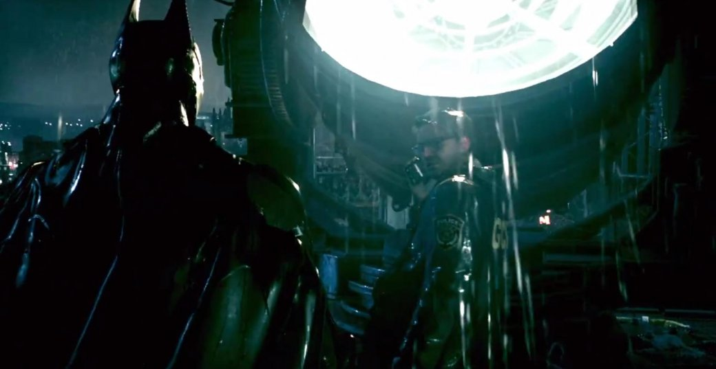 Бэтмобиль мчится по потолку в трейлере Batman: Arkham Knight - Изображение 1