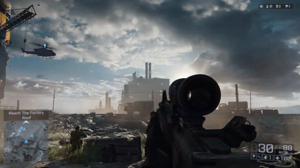 Милитари-дежавю: 11 сцен из трейлера Battlefield 4, которые мы где-то видели. - Изображение 15