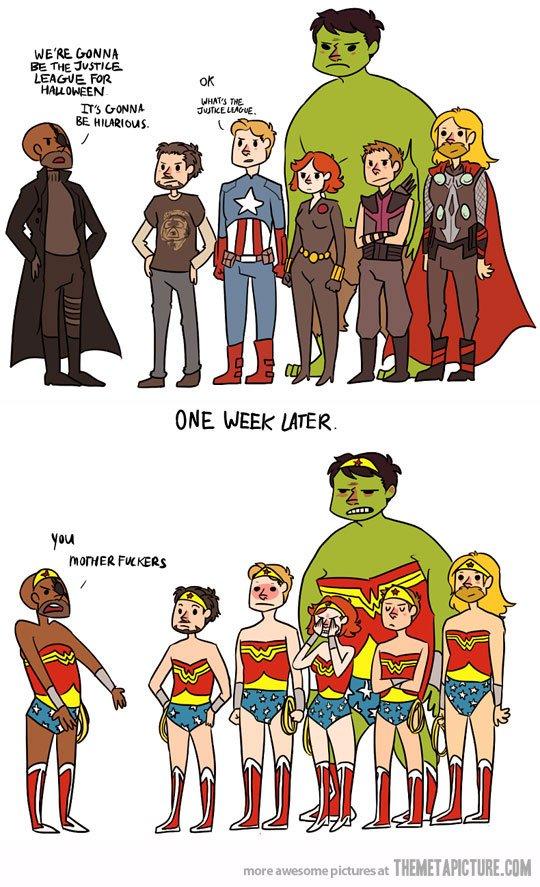 Галерея вариаций: Мстители-женщины, Мстители-дети... - Изображение 162