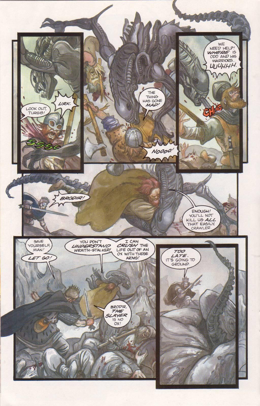 Бэтмен против Чужого?! Безумные комикс-кроссоверы сксеноморфами. - Изображение 21