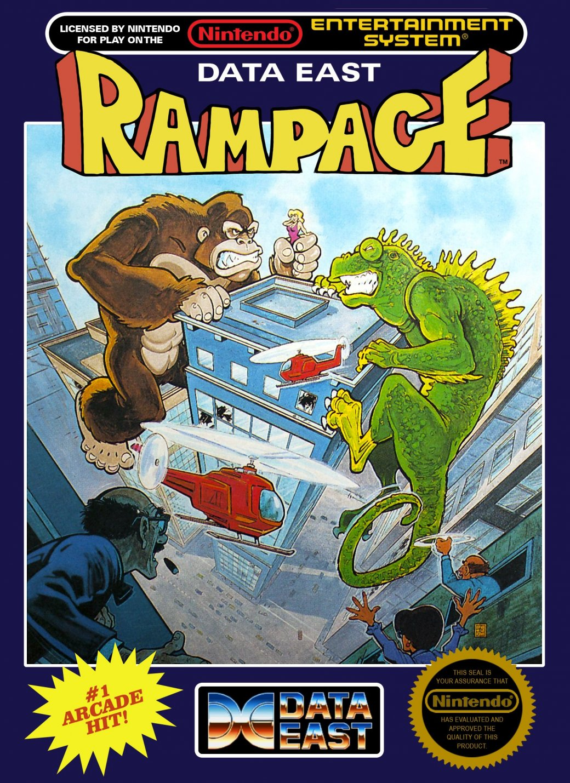 Экранизация Rampage: Рок против Кинг Конга, Годзиллы и оборотня! - Изображение 1