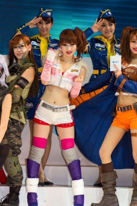 Девушки с Asia Game Show 2012 - Изображение 17