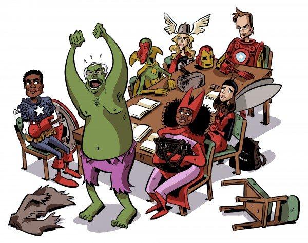 Галерея вариаций: Мстители-женщины, Мстители-дети... - Изображение 180