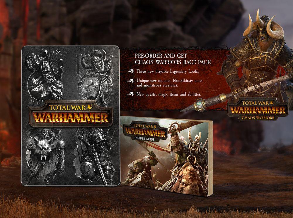 Total War: Warhammer обзавелась точной датой релиза и коллекционкой - Изображение 6