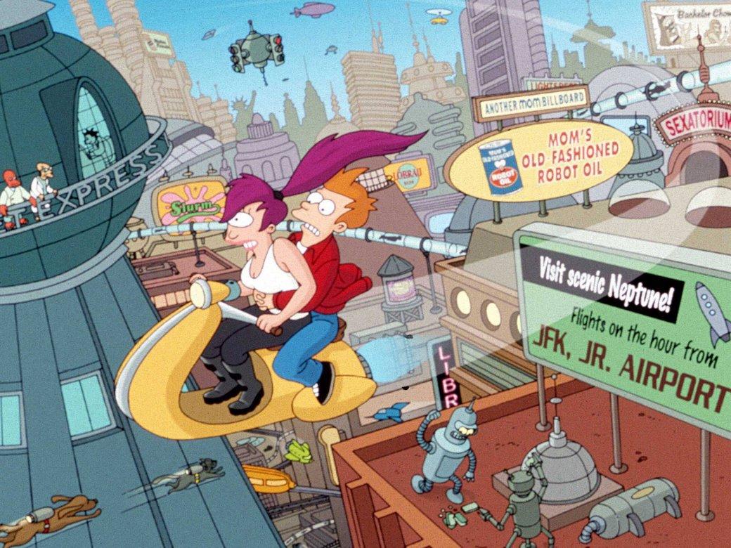 По «Футураме» делается мобильная игра со сценаристом Monkey Island - Изображение 1