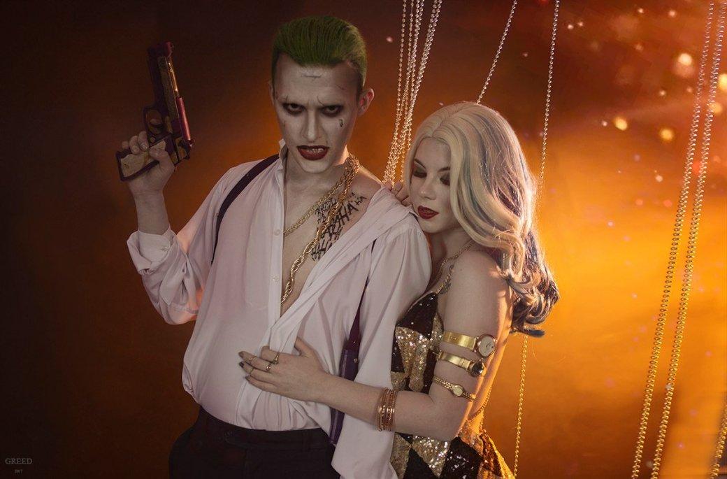 Косплей дня: восхитительная Харли Квинн и Джокер из «Отряда самоубийц» - Изображение 8