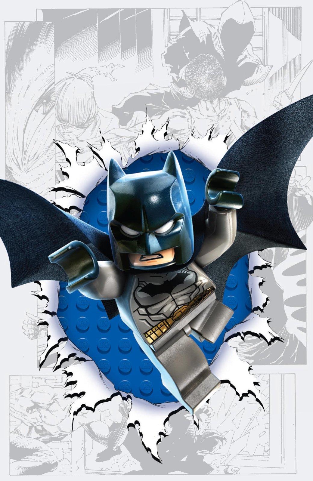 LEGO украшает комиксы DC  - Изображение 2