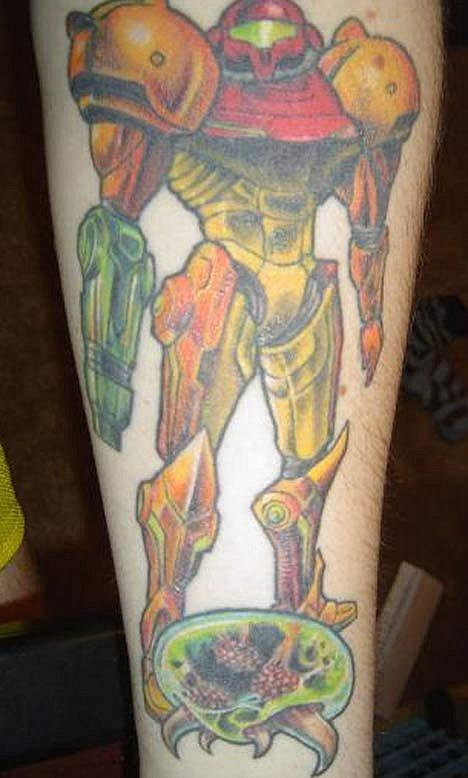 Татуировки фанатов видеоигр. - Изображение 12