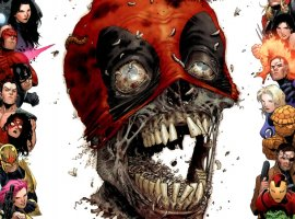 «Болтливый наемник»— чудной комикс оДэдпуле сдинозаврами, зомби, Гидрой ипараллельными мирами