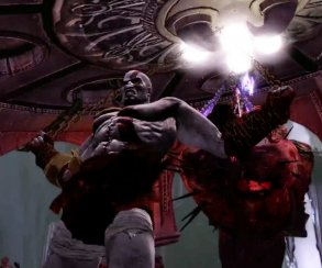 Кратос потрошит Аида в новом видео God of War III Remastered