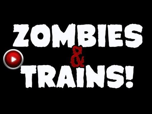Zombies & Trains!. Геймплей зомби- шутера