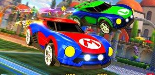 Rocket League. Боевые автомобили на Nintendo Switch