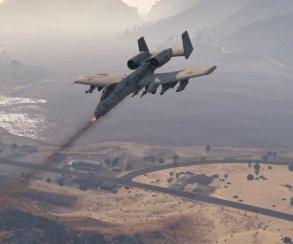 Гифка дня: филигранная точность посадки истребителя вGrand Theft Auto5