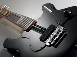 Dark Souls 2 прошли с контроллером-гитарой Rock Band