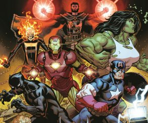 Гигантские Мстители против злых Целестиалов! Настолько огромными Халка иТора выеще невидели