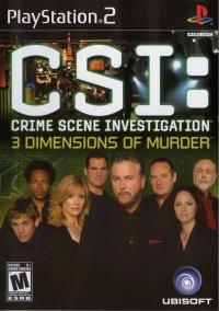 CSI: 3 Dimensions of Murder – фото обложки игры