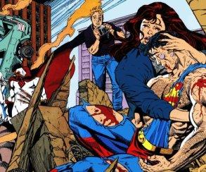 Неостановимый Думсдэй нановых кадрах мультфильма «Смерть Супермена»