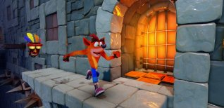 Crash Bandicoot N. Sane Trilogy. Дополнительный уровень Stormy Ascent