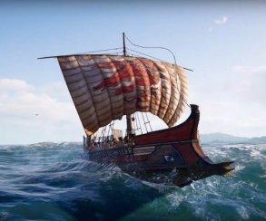 Расколоть пополам! Самая жестокая тактика морского боя вновом видео Assassin's Creed Odyssey
