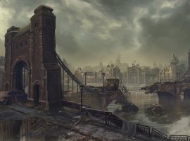 Свежий концепт-арт Dying Light демонстрирует последствия выбора игрока