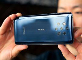 Пятикамерный флагман Nokia9 PureView представили официально