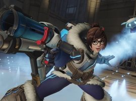Игроки в ответ на политику Blizzard решили сделать Мэй из Overwatch символом протестов в Гонконге