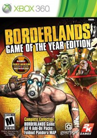 Borderlands - Game of the Year Edition – фото обложки игры