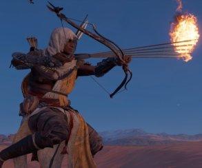 Гифка дня: наплевательское отношение к древности в Assassin's Creed: Origins