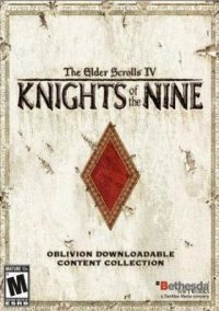The Elder Scrolls 4: Knights of the Nine – фото обложки игры
