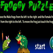 Froggy Puzzle