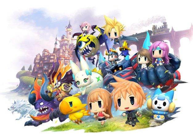 Рецензия на World of Final Fantasy