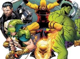 Что будет, если все супергерои забудут, кто они насамом деле? Обзор комикса Marvel Knights 20th