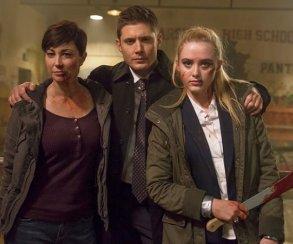 Звезды сериала «Сверхъестественное» поделились подробностями спин-оффа «Сестры Уэйуорд»