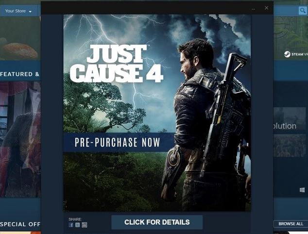 Steam случайно анонсировал Just Cause 4 раньше времени. - Изображение 1