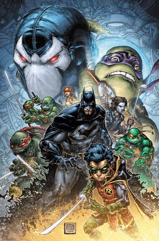 Черепашки-ниндзя снова встретят Бэтмена. Наэтот раз будут ловить Бэйна | Канобу - Изображение 1
