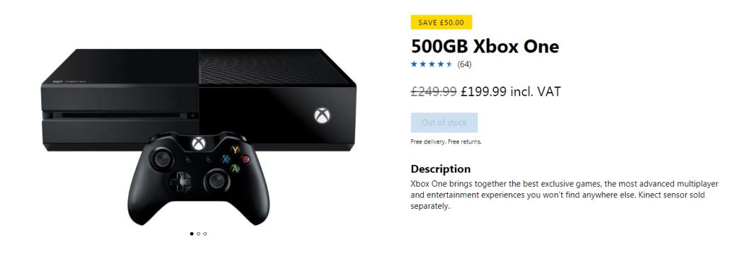 Xbox One сняли спроизводства ибольше непродают. Пока базовую версию. - Изображение 2