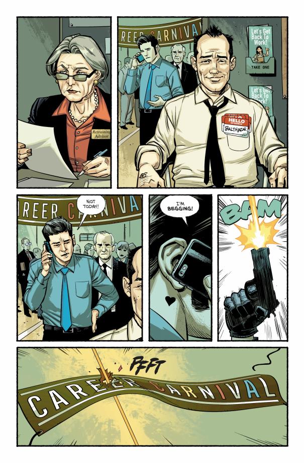 Первый взгляд на «Бойцовский клуб 3» — продолжение истории Чака Паланика в комиксах | Канобу - Изображение 3