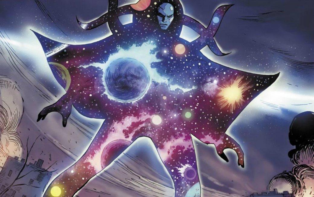 Bosslogic представил, какбы выглядела вкиновселенной Marvel могущественная сущность— Вечность | Канобу - Изображение 9928