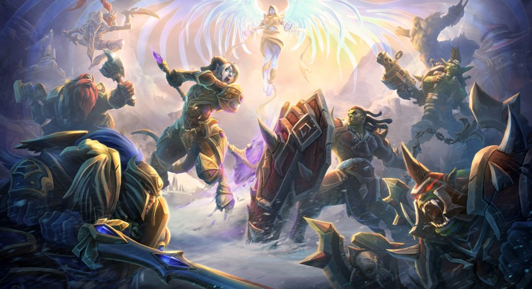 "Heroes of the Storm is preparing for the ""Battle for Azeroth"".  Choose the side of the conflict.  - Image 1"