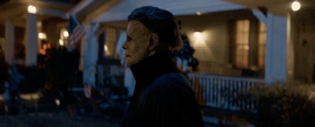 «Хэллоуин» (2018)— тухлый слэшер субийствами закадром | Канобу