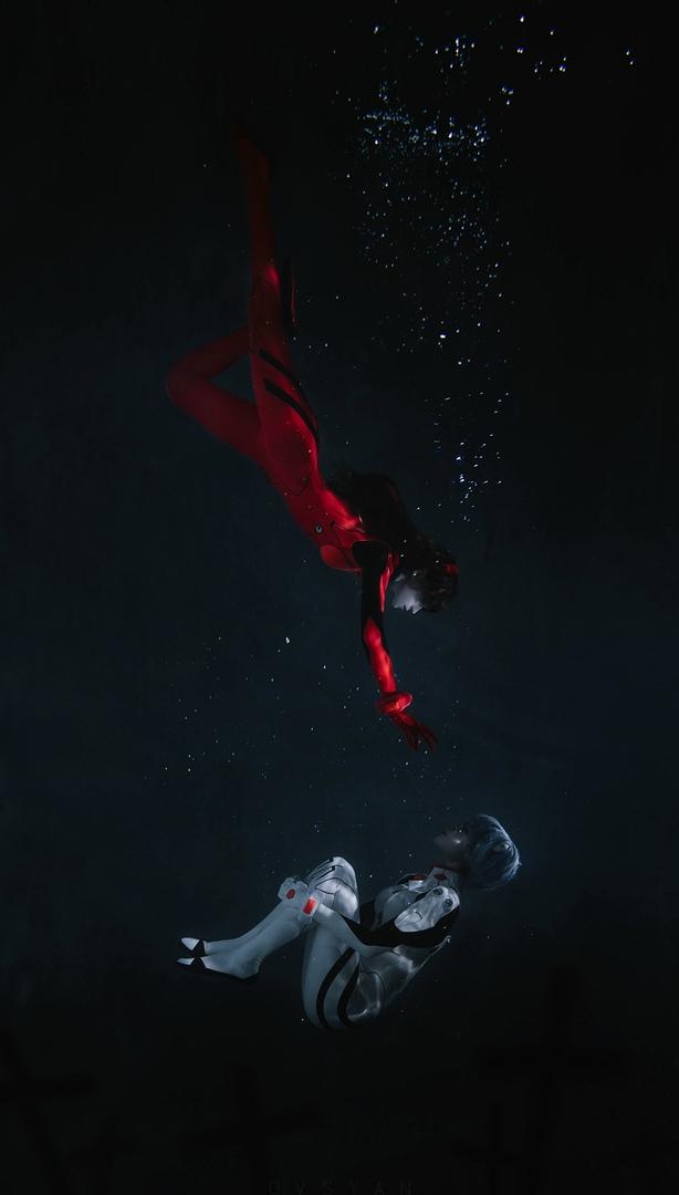 Утопающие, новсе еще прекрасные Аска иРэй вкосплее Neon Genesis Evangelion | Канобу - Изображение 1403