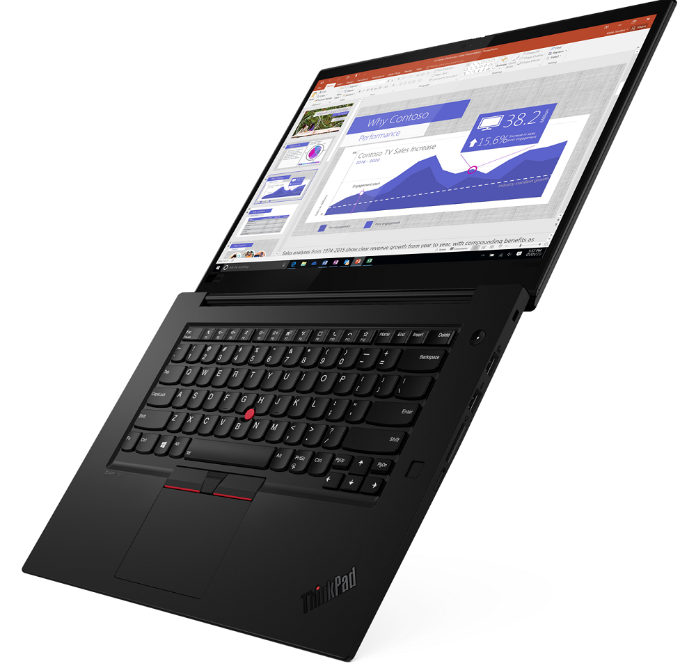 Lenovo представила топовые ноутбуки ThinkPad X1 Extreme Gen3 поцене от121000 рублей | Канобу - Изображение 3409