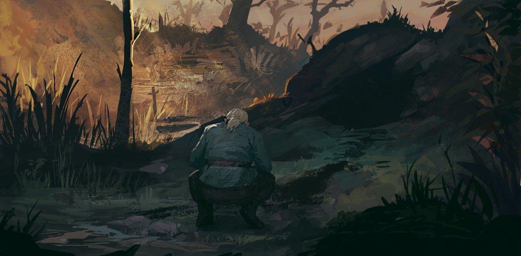 Галерея. Крутейший фанарт по«Ведьмаку», откоторого сразуже хочется перепройти трилогию игр | Канобу - Изображение 6274