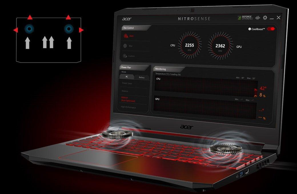Обзор линейки ноутбуков Acer Nitro5: стильно идоступно | Канобу - Изображение 4421